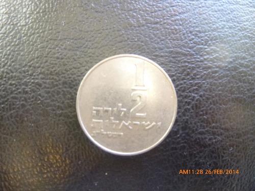 moneda israel 1/2 lirah 1979 (46z