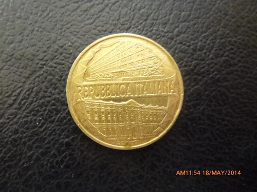 moneda italia 200 liras 1996  centenario de la guardia (a53
