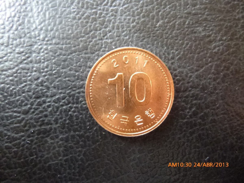 moneda korea 10 won 2011(94z