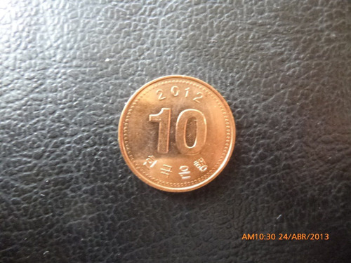 moneda korea 10 won 2012(167z