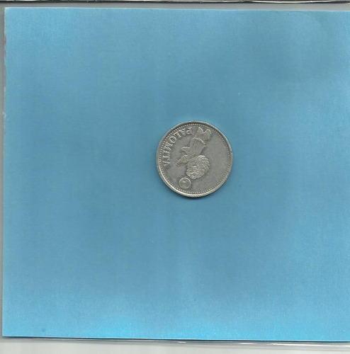 moneda maradona -palomita