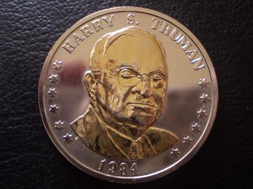 moneda medalla harry truman 1884-1984 (z669