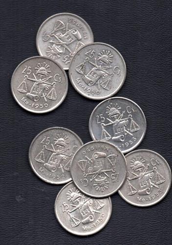 moneda mexicana  veinte centavos                        p134