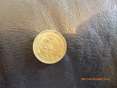 moneda mexico 20 pesos 1985 (z354