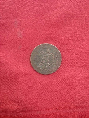 moneda méxico cobre 5 centavos 1915 cod 0019 copper coin