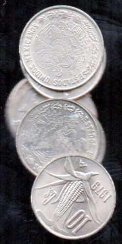 moneda mexico diez centavos mazorca  1979          c8