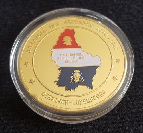 moneda militar, batalla de las ardenas 1944-1945