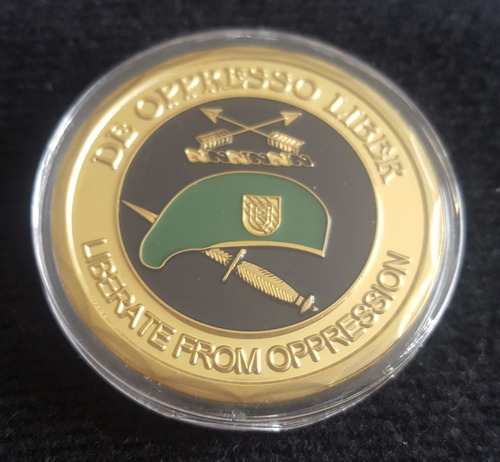 moneda militar, special forces us army