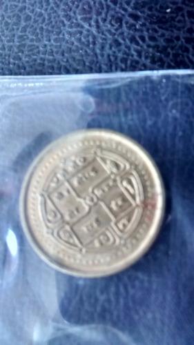moneda nepal 1 rupia 1997 (474z