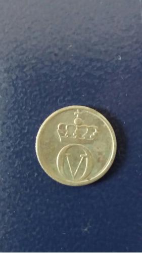 moneda noruega 10 ore 1968 abeja (676z