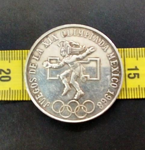 moneda olímpica 1968