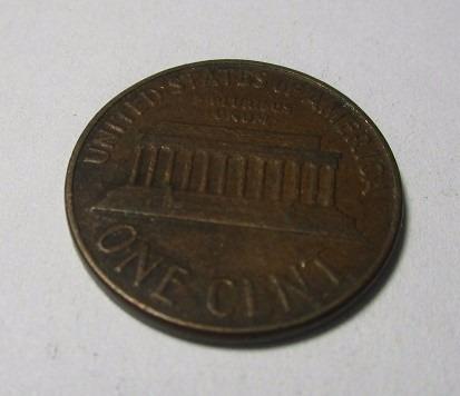 moneda one cent united states of america 1964