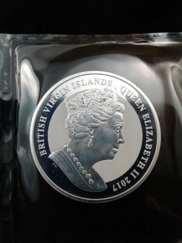 moneda onza plata proof pegaso 2017 !!
