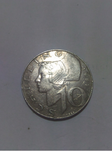 moneda para coleccion 10 schilling 1981 republik osterreich