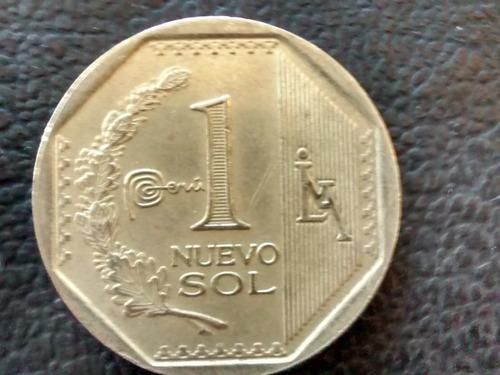 moneda peru 1 nuevo sol 2013 (801z