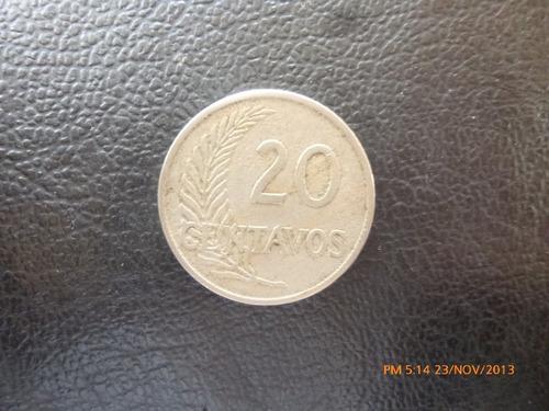 moneda peru 20 centavos 1921 (325z