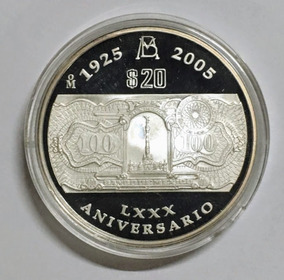 03fc0d6c70d8 Dos Onzas Del 80 Aniversario Del Banco De Mexico - Monedas y Billetes en  Mercado Libre México