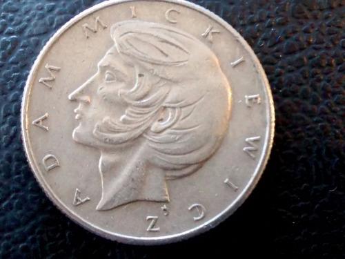 moneda polonia 10 zt 1976 - adan mickiewicz (575z