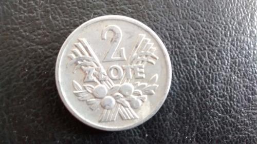 moneda polonia 1958 2 ztote (a47