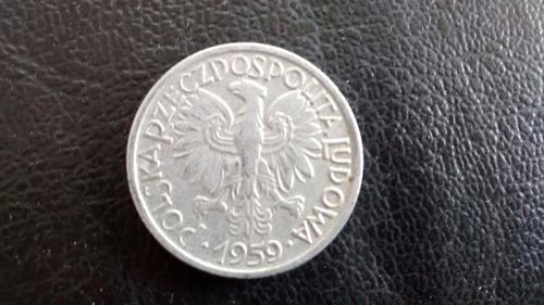 moneda polonia 1959 --   2 ztote (a61