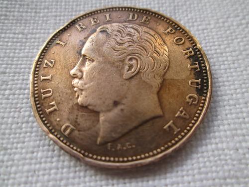 moneda portugal xx reis 1883