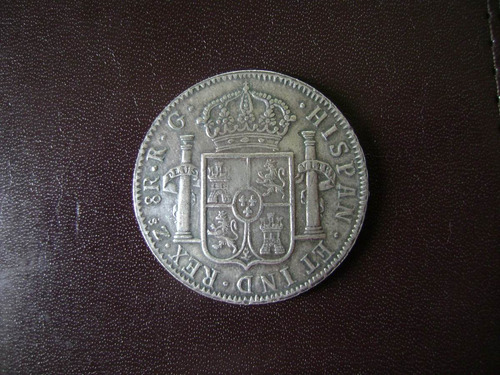 moneda replica: 8 reales 1821 zacatecas
