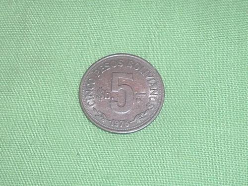 moneda republica de bolivia 1976