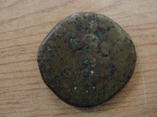 moneda romana sestercio emperador antonino pío 138-161 d. c.