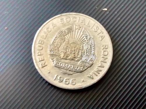 moneda romania 15 bani 1966  (849z