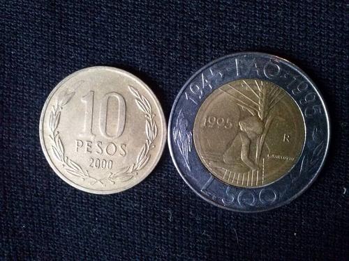 moneda san marino bimetalica 500 liras 1995