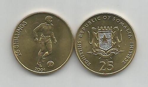 moneda sin circular de somalía