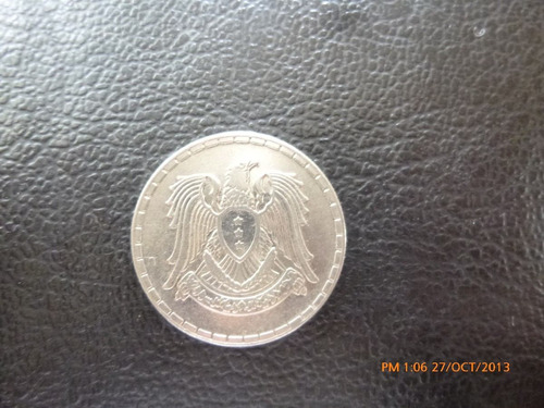 moneda siria 50 piastres 1968 (254z