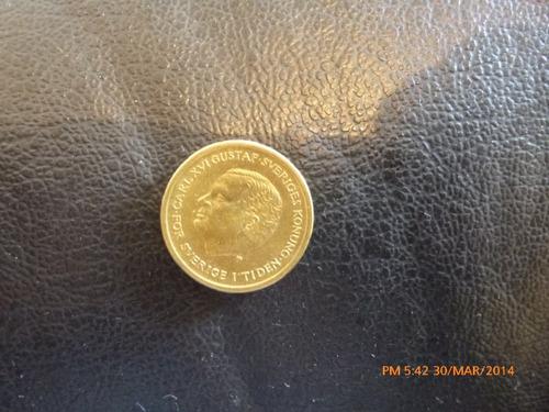 moneda suecia  10 kroner  1991 (19z