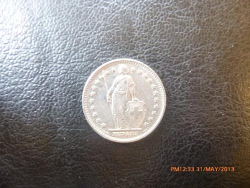 moneda  suiza 1971  1 franco (246z
