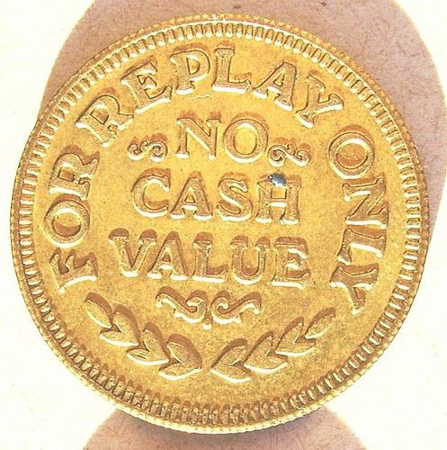 moneda token ficha usa rico´s red lion portland oregon