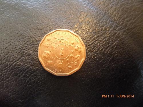moneda uganda one shilling 1987 (280z