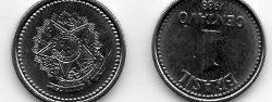 moneda; un centavo.. muy linda!!