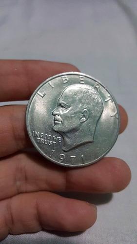 moneda un dólar 1971 d einsenhower