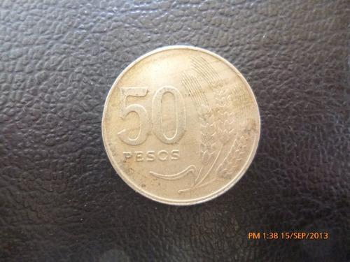 moneda uruguay 50 pesos 1970 (287z