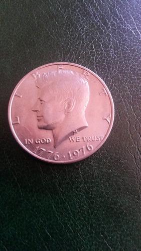 moneda usa medio dolar excelente calidad 1976 bicentenario