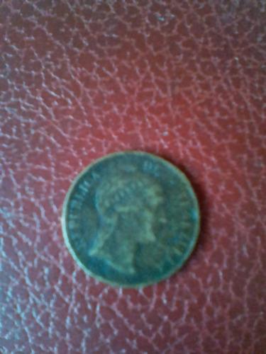 moneda venezolana centavo monaguero 1863
