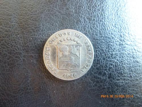 moneda venezuela 12 y 1/2 centimos 1946 (333z