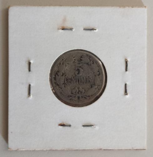 moneda venezuela 5 céntimos 1927 puya vg/f