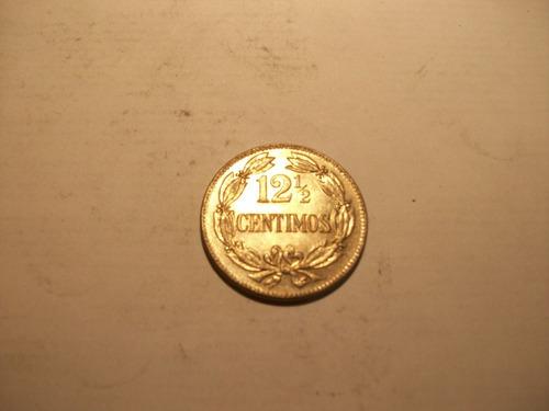 moneda venta remate una unid de locha 12,5 céntimos 1958