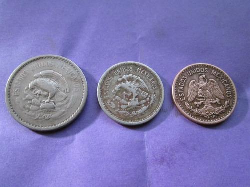 monedas  1 5 y 10  centavos calendario azteca