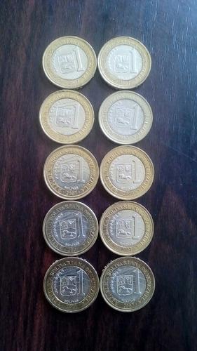 monedas 1 bs.f