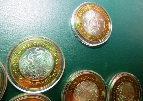 monedas 100 pesos de los estados (casi nuevas) etapa 1 y 2