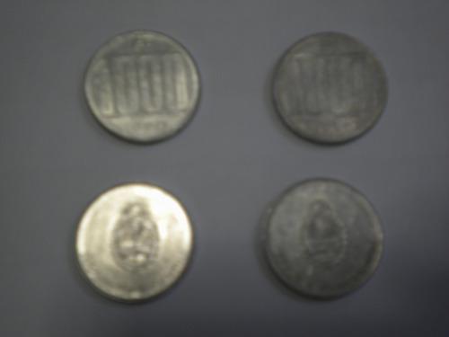 monedas 1000 australes año 1991