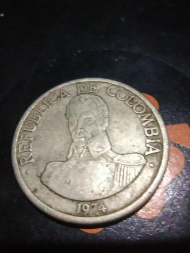 monedas 1974 y 1969