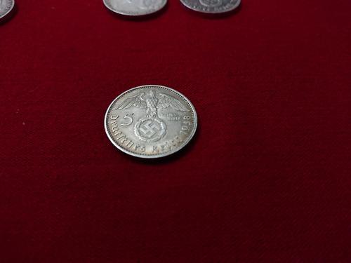 monedas 5 marcos de plata alemanes